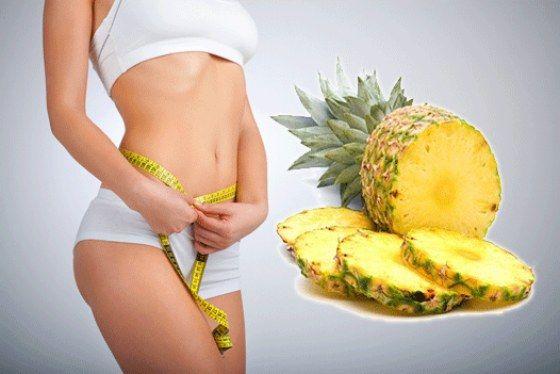 Ананас для схуднення, прощаємося з вагою на смачною дієті