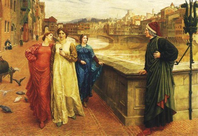 Данте і беатріче: любов крізь століття