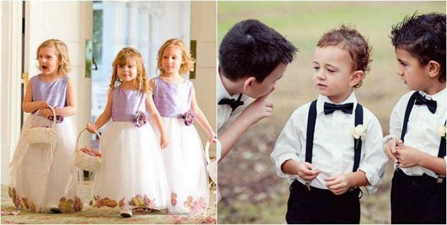 Діти на весіллі