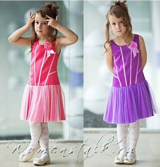 Дитяче плаття на випускний - зшити швидко і просто. Частина 2.