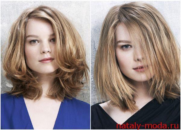 Модні стрижки 2015 на середні волосся фото