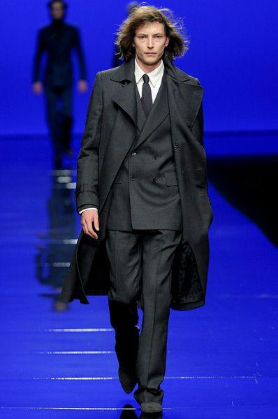 Чоловічі пальто зима 2012