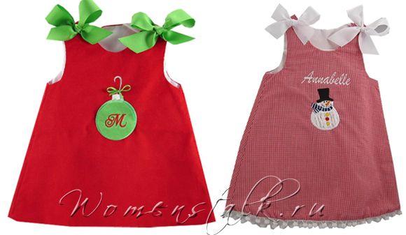 Новорічні сукні для дівчаток - зшити самими швидко і просто. Частина 1.