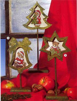 Новорічна вишивка хрестом - багато схем та ідей.