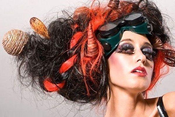 Зачіска гніздо, «вьем» красиву укладку