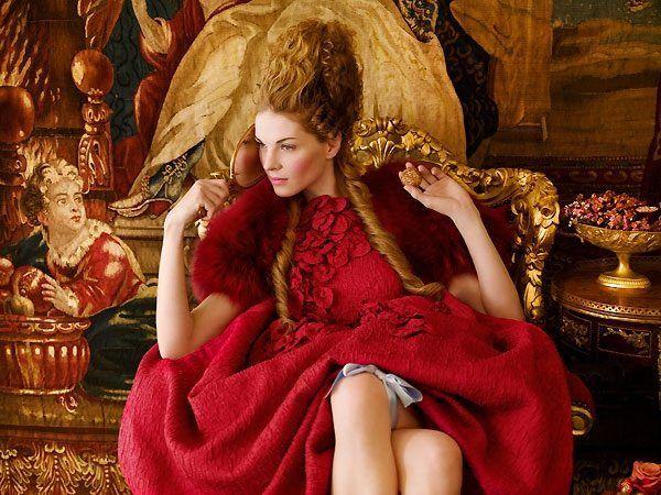 Зачіски бароко, відродження укладання xvi- xvii століть
