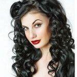 Зачіски для кучерявого волосся (57)