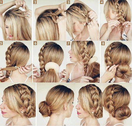 Зачіски з французькими косами