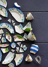 Старовинні ворожіння по розбитій посуді