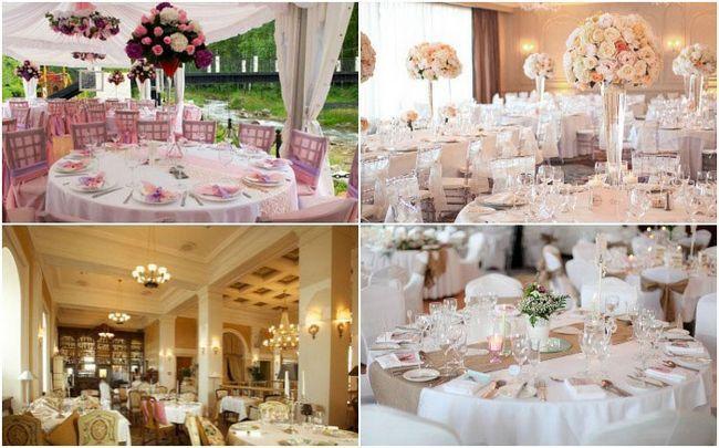 Вишуканий декор весільного банкетного залу