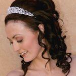 Весільні зачіски з розпущеним волоссям (10)