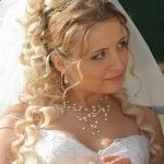 Весільні зачіски з розпущеним волоссям (74)