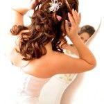 Весільні зачіски з розпущеним волоссям (3)