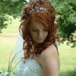 Весільні зачіски з розпущеним волоссям (14)