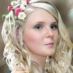 Весільні зачіски з розпущеним волоссям (68)