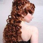 Весільні зачіски з розпущеним волоссям (59)