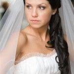 Весільні зачіски з розпущеним волоссям (56)