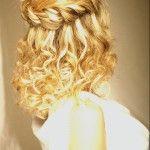 Весільні зачіски з розпущеним волоссям (75)