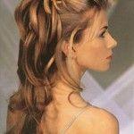Весільні зачіски з розпущеним волоссям (4)