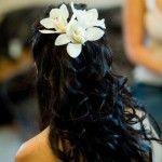 Весільні зачіски з розпущеним волоссям (73)