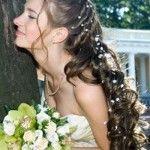 Весільні зачіски з розпущеним волоссям (62)