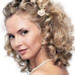 Весільні зачіски з розпущеним волоссям (19)