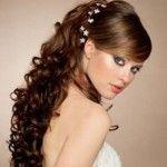 Весільні зачіски з розпущеним волоссям (63)