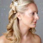 Весільні зачіски з розпущеним волоссям (41)