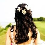 Весільні зачіски з розпущеним волоссям (34)