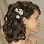Весільні зачіски з розпущеним волоссям (33)