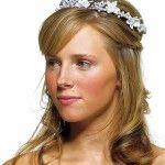 Весільні зачіски з розпущеним волоссям (27)