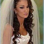 Весільні зачіски з розпущеним волоссям (76)