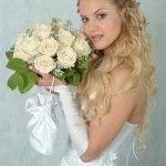 Весільні зачіски з розпущеним волоссям (55)