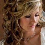 Весільні зачіски з розпущеним волоссям (17)