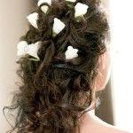 Весільні зачіски з розпущеним волоссям (49)