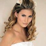 Весільні зачіски з розпущеним волоссям (44)