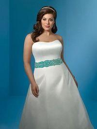 Вибір весільного плаття для наречених з нестандартною фігурою